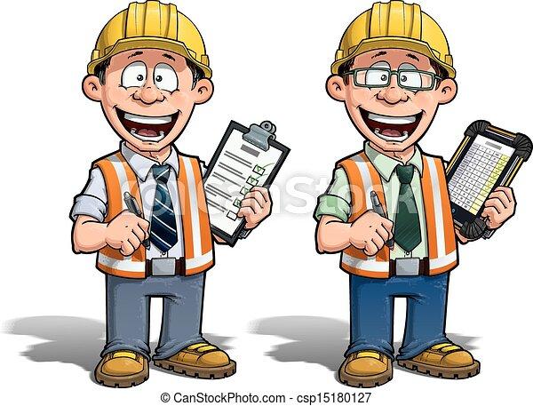 Trabajador de construcción, proyecto Manag - csp15180127