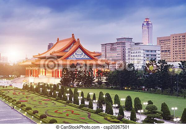 Concierto nacional, Taipei, Taiwán - csp20267501