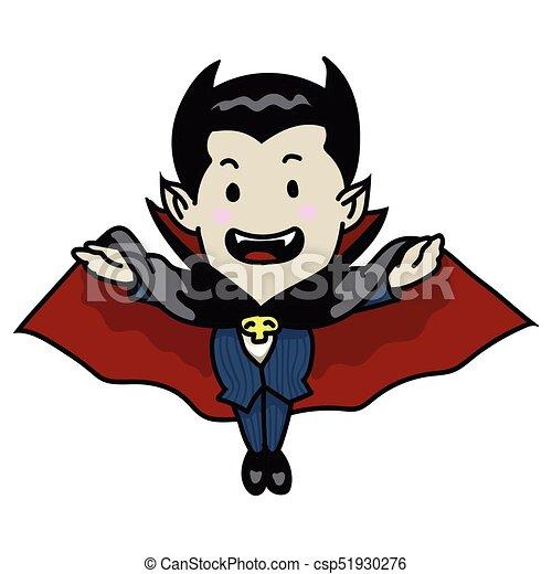 Vampiro illustrazione vettore sg halloween cartone