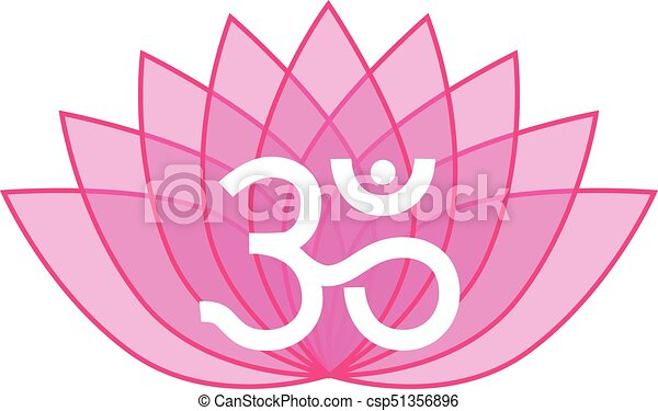 00040 pink transparent lotus flower om icon logo on white background 00040 pink transparent lotus flower om icon logo on white background illustration 1eps mightylinksfo