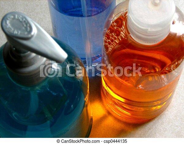 01, flasker, plastik - csp0444135