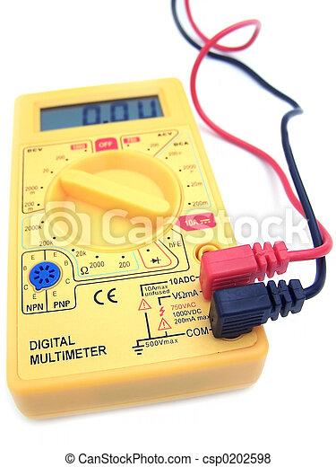 Multímetro digital 01 - csp0202598