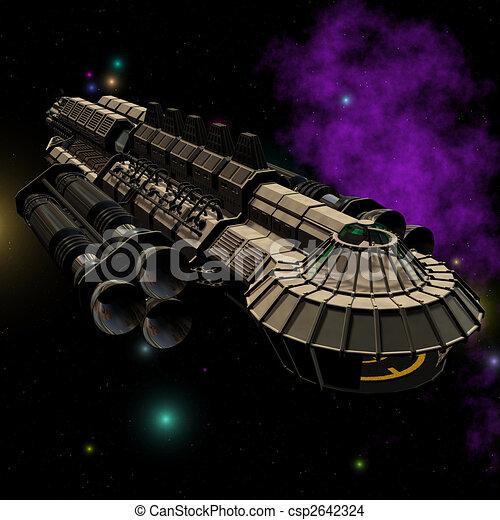 01 vaisseau spatial coupure contient s rie image objet outerspace tranger - Dessin vaisseau spatial ...