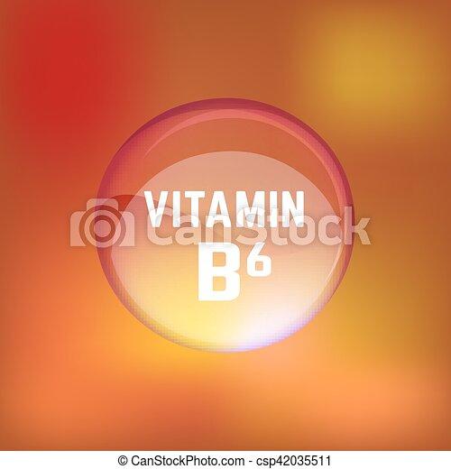 02, b6, b, ビタミン - csp42035511