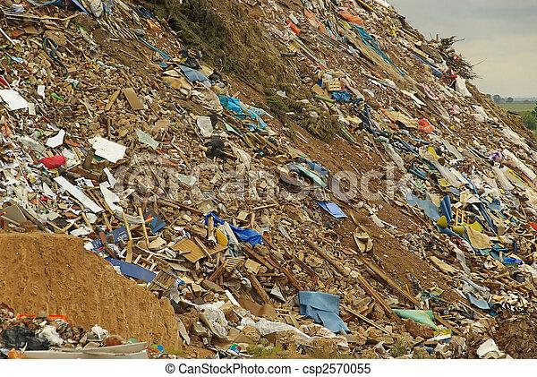 02, décharge ordures - csp2570055