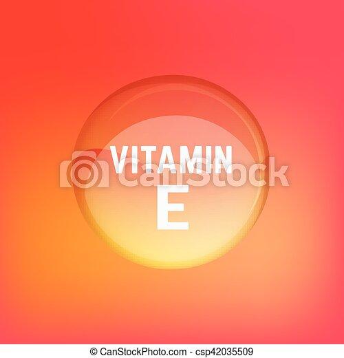 02, e, ビタミン - csp42035509