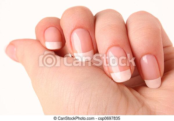 02, francuszczyzna manicure - csp0697835