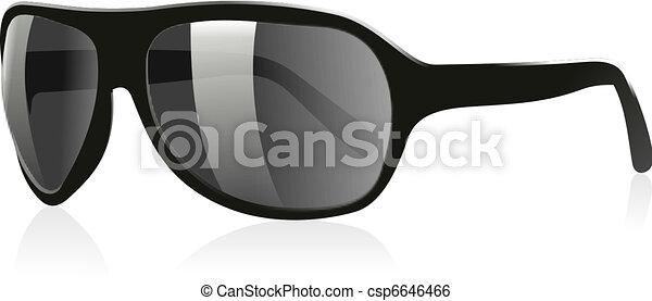 02, sonne, gläser 3d - csp6646466