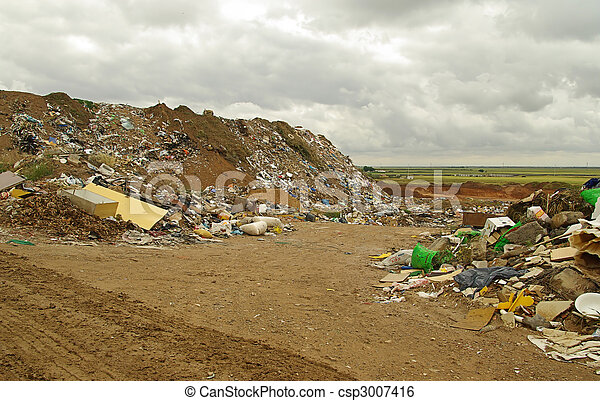 03, décharge ordures - csp3007416