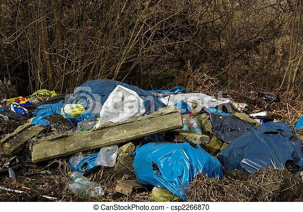 06, décharge ordures - csp2266870