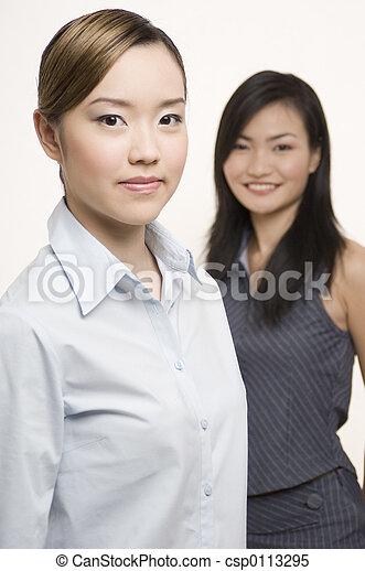 1 , επιχειρηματίες γυναίκες  - csp0113295