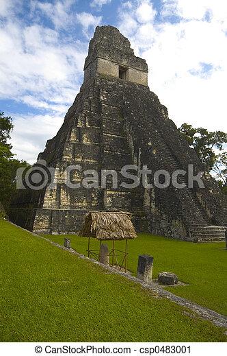 1, 寺院, tikal - csp0483001