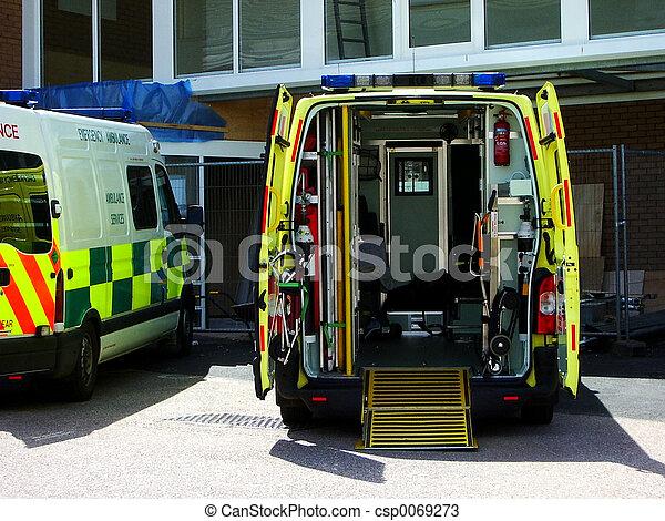 1, 救護車 - csp0069273