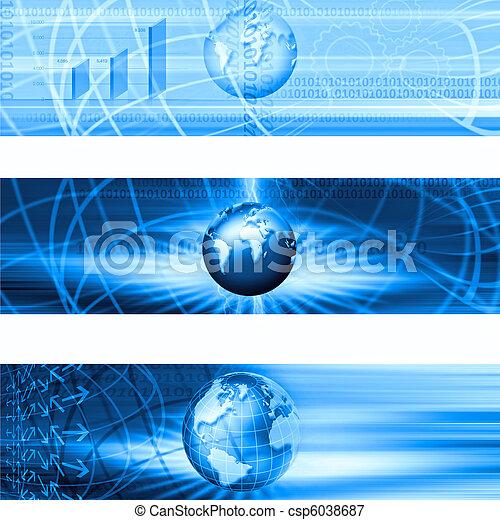 1, 旗, ビジネス - csp6038687