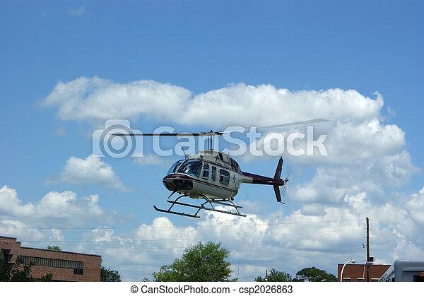 1, 醫學, helicoper - csp2026863