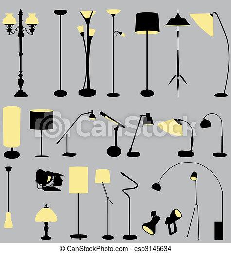 1-2, ランプ, コレクション - csp3145634