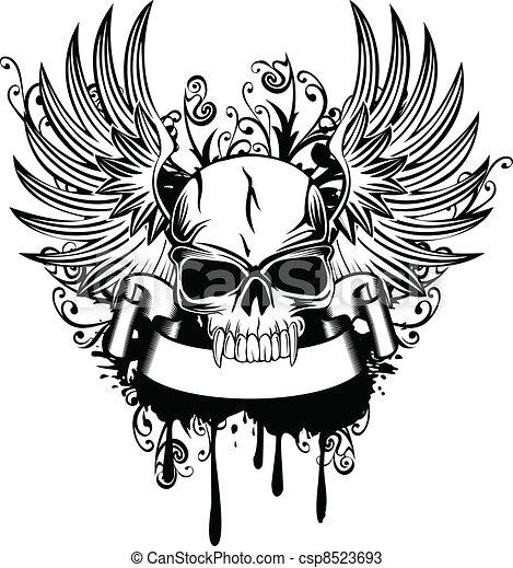 1, ali, cranio - csp8523693