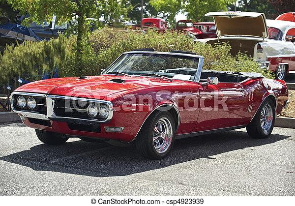 1, autó, átváltható, izom - csp4923939