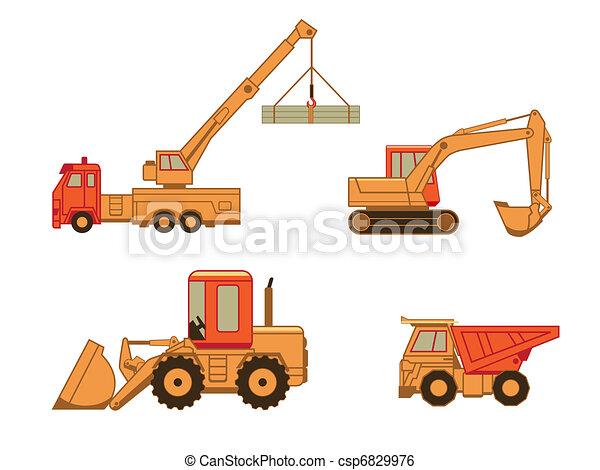 Coches de construcción  ⁇  set 1 - csp6829976