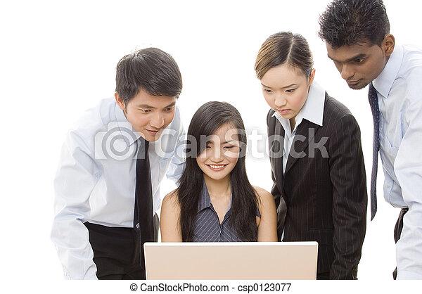 Equipo de negocios 1 - csp0123077