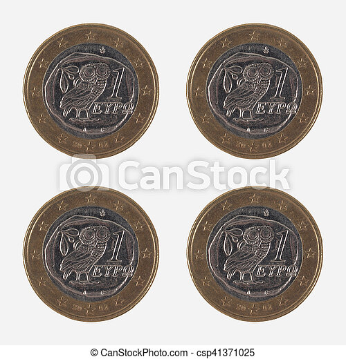 1 EUR coins from Greece - csp41371025
