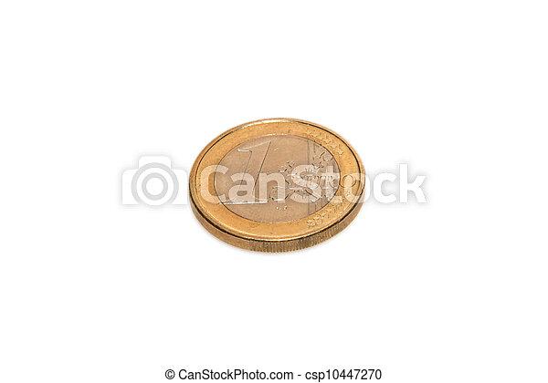 1 euro coin - csp10447270