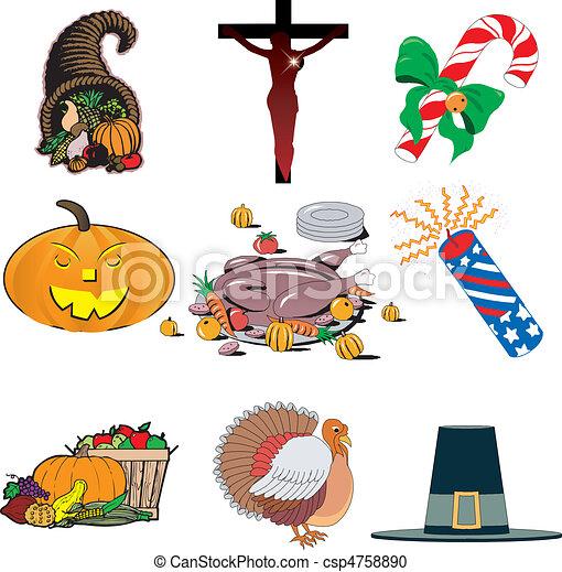 Holiday Icone - csp4758890