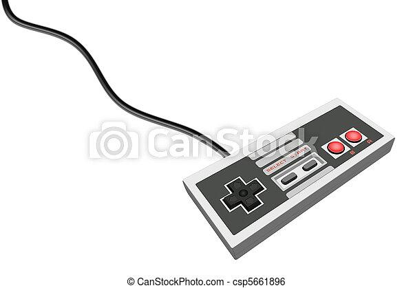 Retro Gamepad 1 - csp5661896