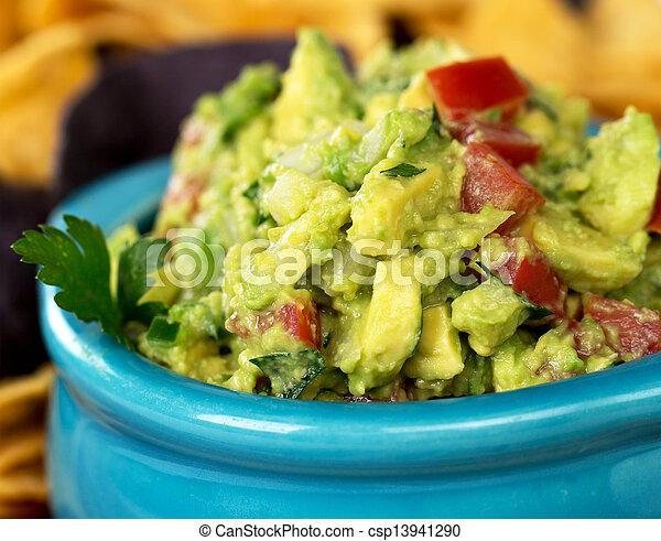 1, guacamole - csp13941290