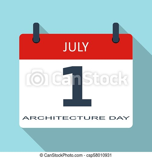 1-july-calendar - csp58010931