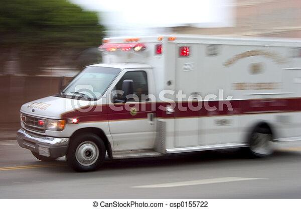 #1, krankenwagen - csp0155722