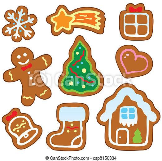 Weihnachtsmännchensammlung 1 - csp8150334