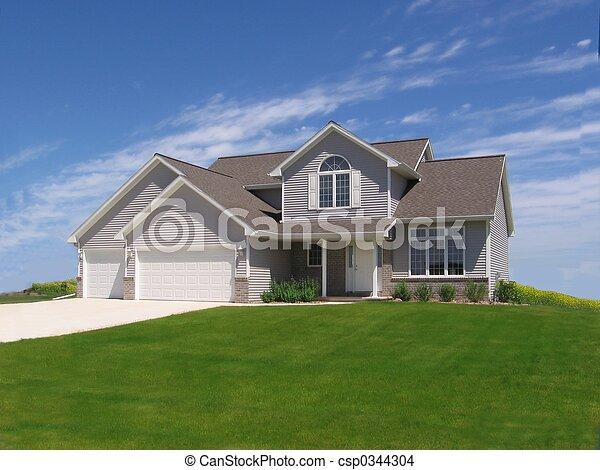 1, maison, suburbain - csp0344304