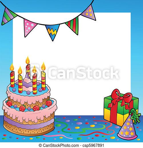 Tema de cumpleaños 1 - csp5967891