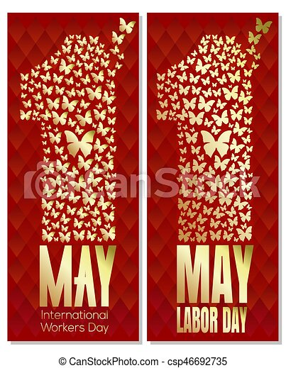 1 May Day International Labor Day Workers Day