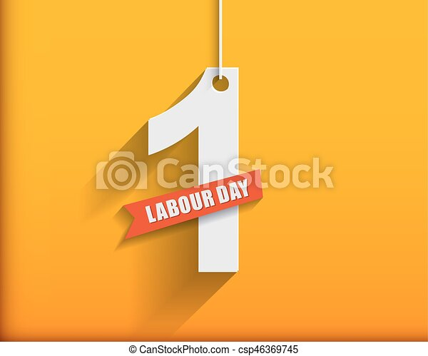 1 may labour day greeting card or background flat design contour line m4hsunfo