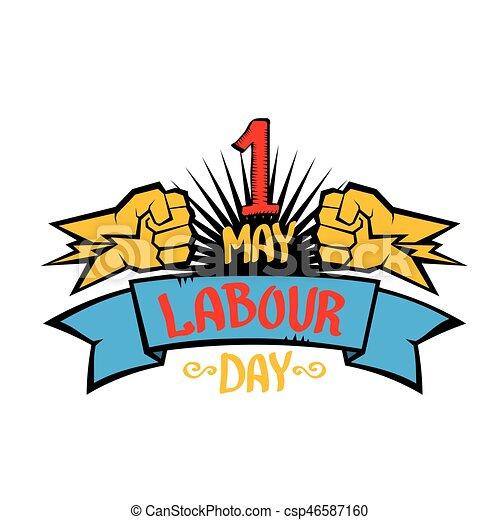 1 may labour day vector labour day poster 1 may labour clip rh canstockphoto com may day 2017 clipart may day clipart free