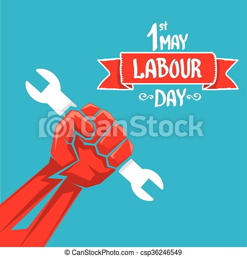 1 may labour day vector labour day poster or workers day banner