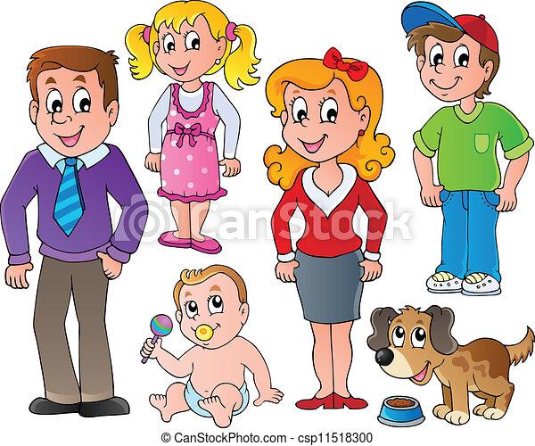 1, rodina, vybírání, národ - csp11518300