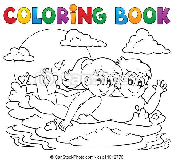 Fantastisch Färbung Aktivität Buch Zeitgenössisch - Framing ...