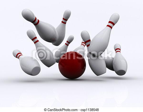 Bowling 1 - csp1138548