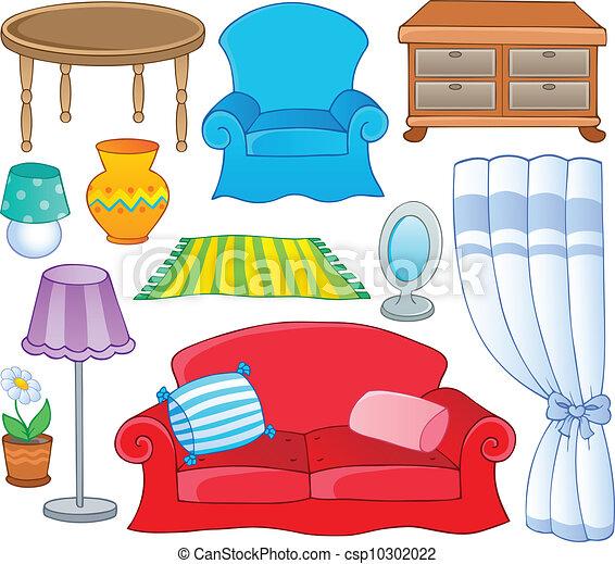 1, thème, collection, meubles - csp10302022