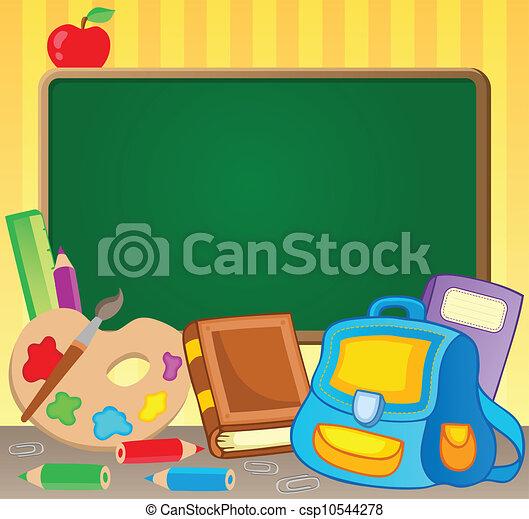 1, thème, image, schoolboard - csp10544278