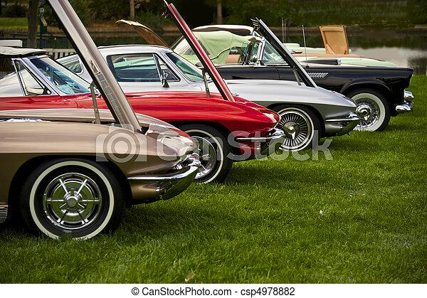 Vintage American Sports Car 1 - csp4978882