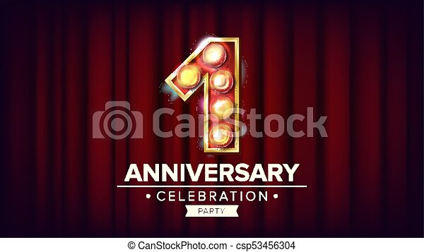 Royalty free anniversary logo clip art vector images