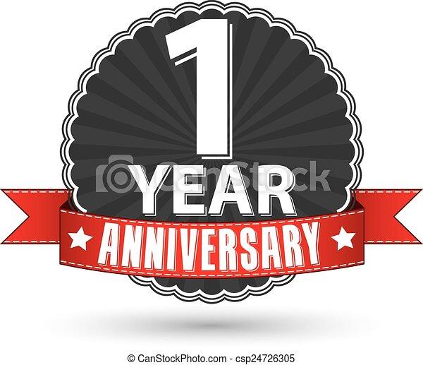 happy 1st anniversary clip art