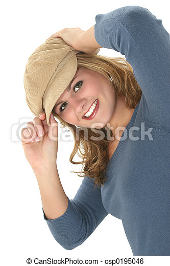 10代少女, 帽子 - csp0195046