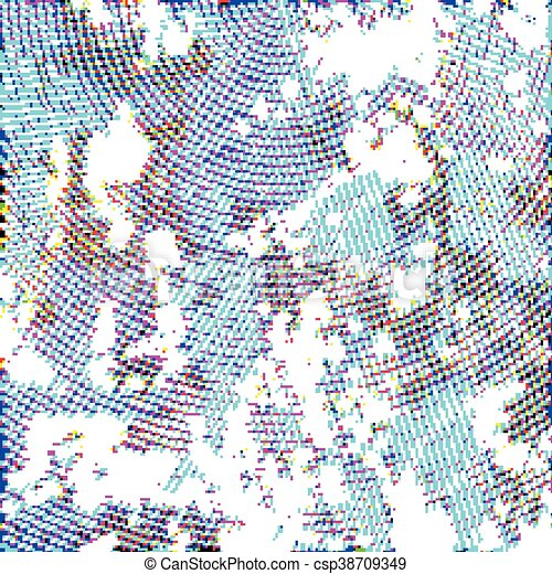 10, eps, ilustracja, halftone, tło., wektor - csp38709349
