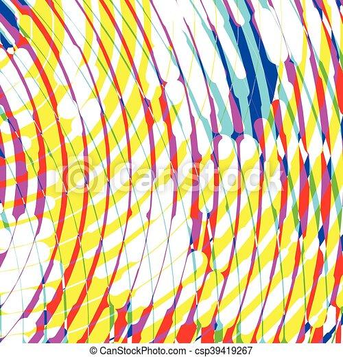 10, eps, ilustracja, halftone, tło., wektor - csp39419267