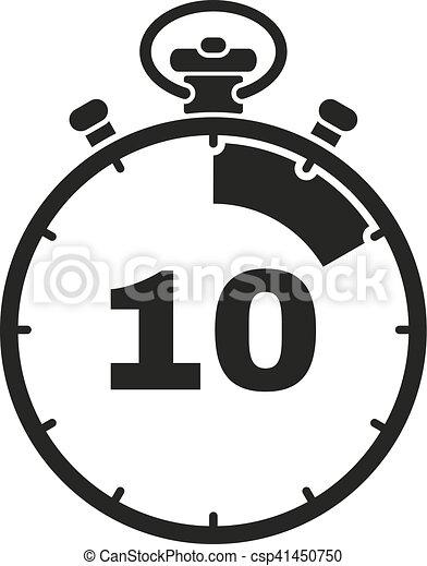 10 minutes horloge secondes signe minuteur web - Minuteur 10 minutes ...
